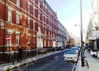 Cleveland Street, London - Cleveland Street Conservation Area