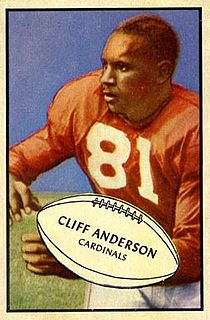 Cliff Anderson (American football)