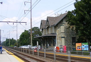Clifton–Aldan station SEPTA station in Clifton Heights, Pennsylvania