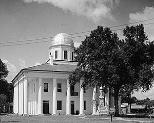 Clinton Courthouse, Saint Helena Street, Clinton (East Feliciana Parish, Louisiana).jpg