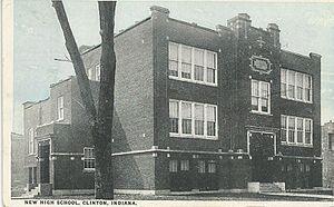 Clinton High School, Indiana - Image: Clinton High School
