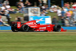 Clivio Piccione - Piccione driving for RC Motorsport at the Donington Park round of the 2007 World Series by Renault season.