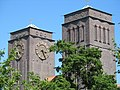 Clock tower, Augsburg.jpg
