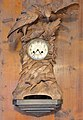 Clockstand with eagle and hare woodcarved Brienz.jpg