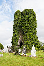 Cloonshanville Priory Tower 2014 08 29.jpg