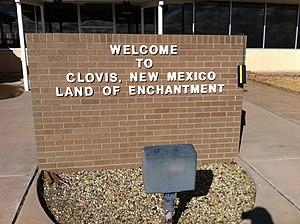 Clovis, New Mexico - Clovis airport