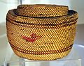 Coast Salish basket with duck motif - Log House Museum.jpg