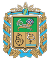 Coat of Arms of Pechenizkiy Raion in Kharkiv Oblast.png