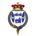 Coat of Arms of Quintin Hogg, Baron Hailsham of St Marylebone, KG, CH, PC, QC, FRS.png