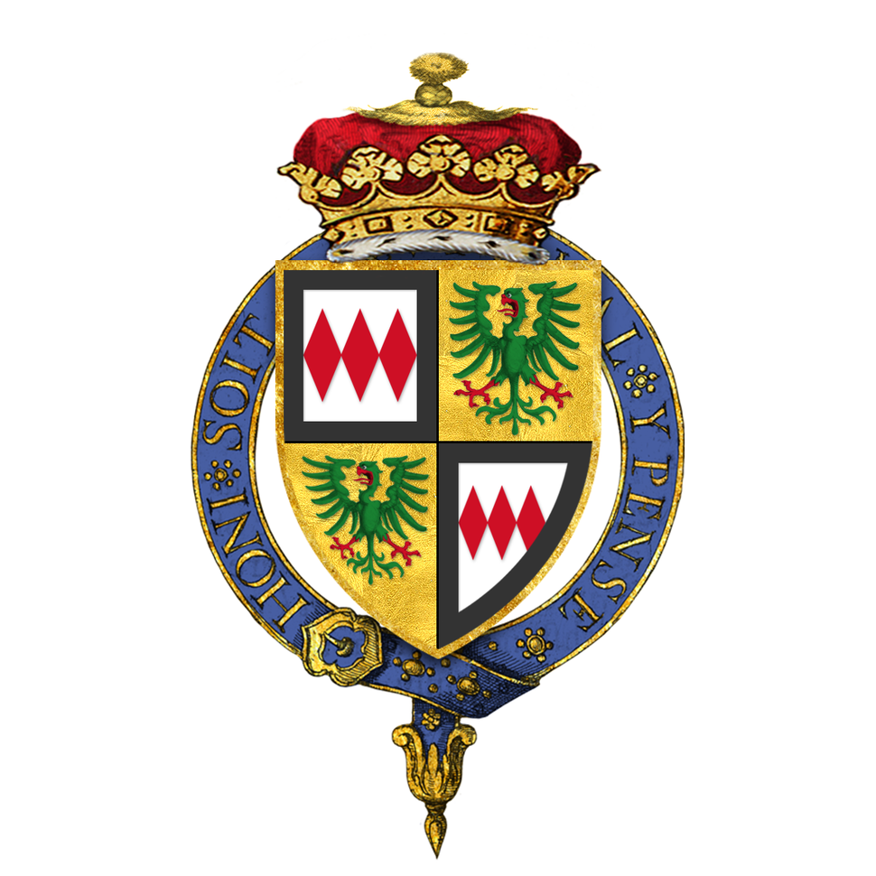 Coat of arms of John Montagu, 2nd Duke of Montagu, KG, GMB, PC