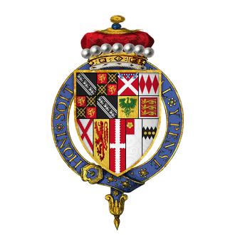Anthony Browne, 1st Viscount Montagu - Coat of arms of Sir Anthony Browne, 1st Viscount Montagu, KG