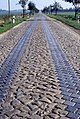 Cobbled road west of Magdeburg Oct 1995 (3380473522).jpg