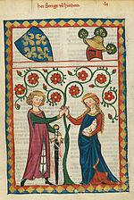 Codex Manesse Bernger von Horheim