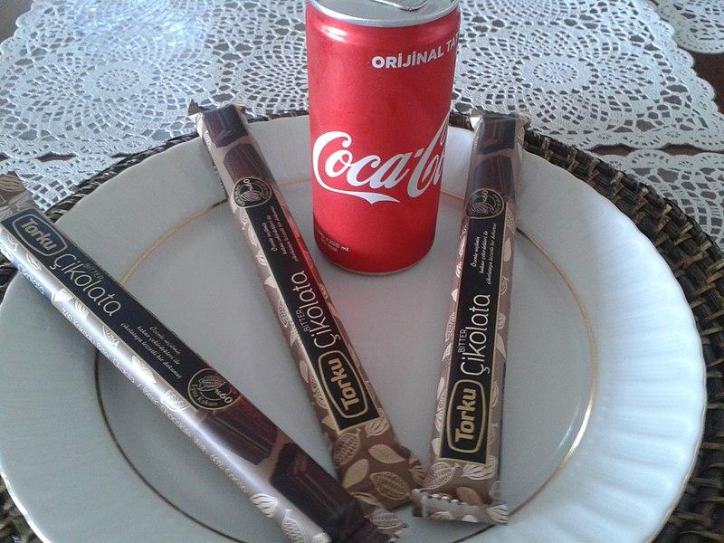 コーラとチョコバー