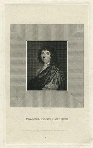 James Gardiner (British Army officer) - James Gardiner by John Taylor ('J.T.') Wedgwood.