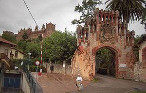 Comillas Pontifical University - Entrance to original complex in Comillas