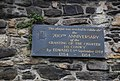 Commemorative Plaque, Town Walls, Conwy - geograph.org.uk - 1483256.jpg