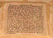 Commemorative plaque raid on Zejtun 1614