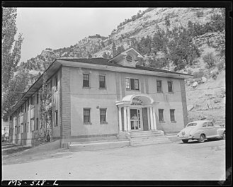 Roving Picket Movement - An example of the type of hospital that was closed by the United Mine Workers of America.