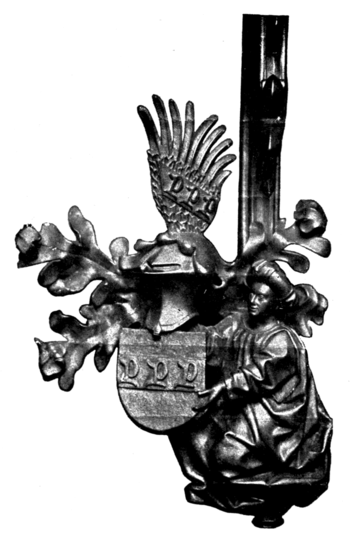 Fig. 667.—Arms of Vöhlin of Augsberg.