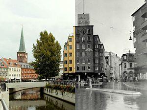 Composite, Aarhus 1945 and 2016