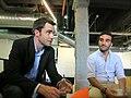 Con Ben Rattray y Francisco Polo, en Wayra.jpg