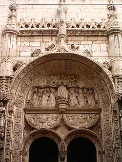 Nossa Senhora da Conceição Velha Kilisesi ana kapısı