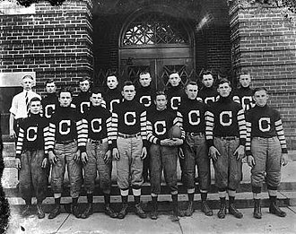 Muncie Flyers - Congerville Flyers, 1915.