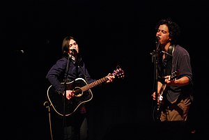 Bright Eyes (band) - Conor Oberst and M. Ward at The Town Hall.