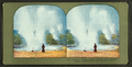 Constant Geyser, Black Growler and Steamboat Geyser in Eruption at Norris Basin, Y. N. P, from Robert N. Dennis collection of stereoscopic views.png