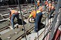 Construction of a new tram line in Dublin 03.jpg