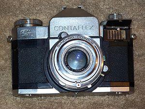 Contaflex SLR - Wikipedia