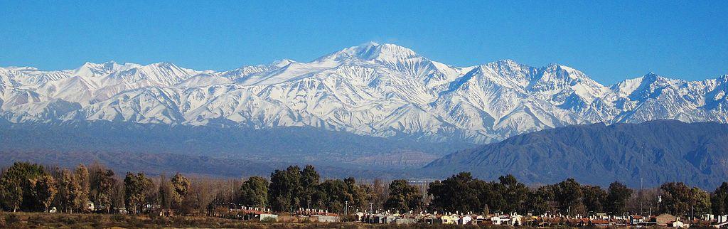 Cordillère des Andes (image wikimedia)