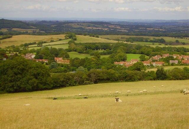 Corscombe Village - geograph.org.uk - 260462.jpg