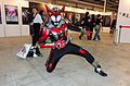 Cosplayer of Kamen Rider Kabuto Hyperform at 2015FFTC 20150801b.jpg