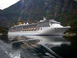 Costa Atlantica - Costa Atlantica In Aurlandsfjord. 2009