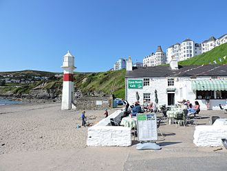 Port Erin - Image: Cosy Nook Cafe on Port Erin Beach