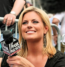 Courtney Friel with FOX News Channel microphone 20070630.jpg