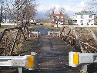 Crab Run Lane Truss Bridge bridge in United States of America