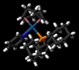 Crabtree's catalyst - Image: Crabtree's catalyst cation 3D sticks