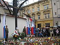 Cracow after Polish Air Force One crash 11.jpg