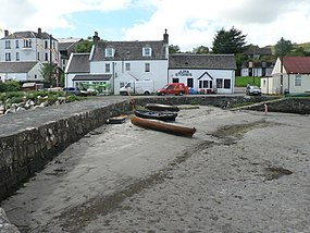 Craighouse, inland from the stone pier - geograph.org.uk - 915878.jpg
