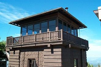 Crane Flat Fire Lookout - Image: Crane Flat Fire Lookout