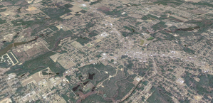 Crestview, Florida - Crestview, Florida from above