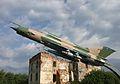 Croatian AF MiG-21 bis at Karlovac war museum.jpg