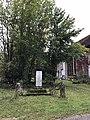 Croix-monument aux morts de Mérona, Jura, France.JPG