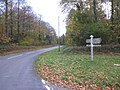 Crossroads, at Black Forest Lodge - geograph.org.uk - 1573439.jpg