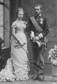 Crown Prince Rudolf with his wife Stephanie.png