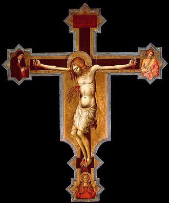 Bob Jones University Museum & Gallery - Francesco di Vannuccio, Crucifix, ca. 1370