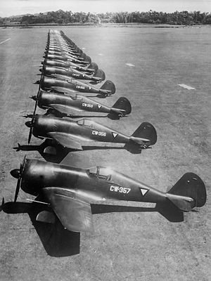 Curtiss-Wright CW-21 - Curtiss CW-21B (1941)